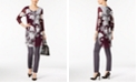 Alfani Printed Tunic & Skinny Pants, Created for Macy's