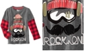 Epic Threads Rock On Graphic-Print Shirt, Little Boys, Created for Macy's