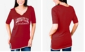 Gameday Couture Women's Louisville Cardinals Beaded Neckline T-Shirt