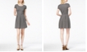 Maison Jules Textured Pleated Dress, Created for Macy's