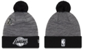New Era Los Angeles Lakers Pin Pom Knit Hat