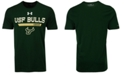 Under Armour Men's South Florida Bulls Lead Block Charged T-Shirt
