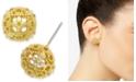 Charter Club Crystal Filigree Stud Earrings, Created for Macy's