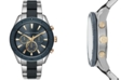 A X Armani Exchange Men's Chronograph Two-Tone Stainless Steel Bracelet Watch 46mm