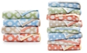 Martha Stewart Collection CLOSEOUT! Cotton Spa Fashion Tile Bath Towel Collection, Created for Macy's