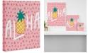 """Deny Designs Zoe Wodarz Aloha Darling Art Canvas 24 x 30"""""""