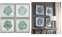 Uttermost Natural Beauties 4-Pc. Botanical Print Wall Art Set