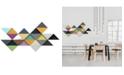 Furniture Ren Wil Tremulous Triangle Wall Art, Quick Ship