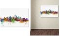 """Trademark Global Michael Tompsett 'Seattle Washington Skyline' Canvas Art - 16"""" x 24"""""""