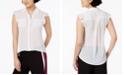 Bar III Clip-Dot Blouse, Created for Macy's