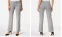 Kasper Tab-Waist Modern Dress Pants
