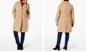 Tommy Hilfiger Plus Size Single-Breasted Peacoat, Created for Macy's