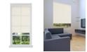 "US Shade & Shutter Cordless Linen Look Light Filtering Fabric Roller Shade, 23""  W x 66"""
