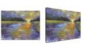 "Ready2HangArt 'Ravine Sunset' Abstract Landscape Canvas Wall Art, 20x30"""