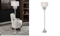 Uttermost Resana Polished Nickel Floor Lamp