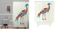 Deny Designs Iveta Abolina Feather Dance Shower Curtain