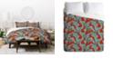 Deny Designs Holli Zollinger Jackalopes Twin Duvet Set