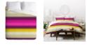 Deny Designs Holli Zollinger Fusion Bright Stripe Queen Duvet Set