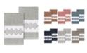 Linum Home Noah 2-Pc. Embellished Hand Towel Set