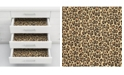 Brewster Home Fashions Leopard Adhesive Film Set Of 2