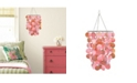 Brewster Home Fashions Pearlized Pink Sequin Chandelier