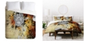 Deny Designs Iveta Abolina Floral Midnight Twin Duvet Set