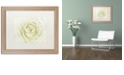 """Trademark Global Cora Niele 'White Persian Buttercup' Matted Framed Art, 16"""" x 20"""""""