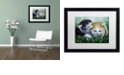 "Trademark Global Jenny Newland 'Friendship' Matted Framed Art, 16"" x 20"""