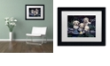 """Trademark Global Jenny Newland 'Puppies To The Rescue' Matted Framed Art, 11"""" x 14"""""""