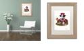 "Trademark Global Jenny Newland 'Jack Of Hearts' Matted Framed Art, 11"" x 14"""