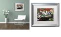 "Trademark Global Jenny Newland 'Calling Your Bruff' Matted Framed Art, 16"" x 20"""
