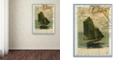 "Trademark Global Nick Bantock 'Jersey Sailboat' Canvas Art, 24"" x 32"""