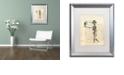 "Trademark Global Nick Bantock 'Agincourt' Matted Framed Art, 16"" x 20"""