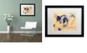 """Trademark Global Nick Bantock 'Ulysses' Matted Framed Art, 16"""" x 20"""""""