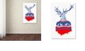 "Trademark Global Robert Farkas 'Ugly Winter Pullover' Canvas Art, 16"" x 24"""