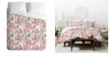 Deny Designs Holli Zollinger French Linen Hydrangea King Duvet Set