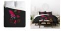 Deny Designs Holli Zollinger Desert Botanical Indian Paintbrush Queen Duvet Set
