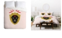 Deny Designs Holli Zollinger Zodiac Leo Queen Duvet Set