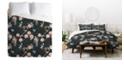 Deny Designs Holli Zollinger Floralista Twin Duvet Set