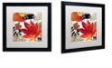 "Trademark Global Color Bakery 'Equinox I' Matted Framed Art, 16"" x 16"""