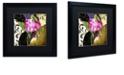 "Trademark Global Color Bakery 'Glassberry Iv' Matted Framed Art, 16"" x 16"""