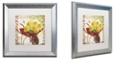 "Trademark Global Color Bakery 'Vermont Summer Ii' Matted Framed Art, 16"" x 16"""