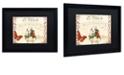 "Trademark Global Color Bakery 'Vermont Summer X' Matted Framed Art, 16"" x 20"""