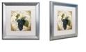 "Trademark Global Color Bakery 'Tuscany Table Noir' Matted Framed Art, 16"" x 16"""