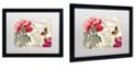 """Trademark Global Color Bakery 'Petals Of Paris V' Matted Framed Art, 16"""" x 20"""""""