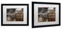 """Trademark Global Color Bakery 'Cabela I' Matted Framed Art, 16"""" x 20"""""""
