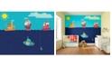 Brewster Home Fashions Nautical Adventures Wall Mural