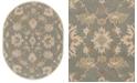 Surya Caesar CAE-1156 Medium Gray 8' x 10' Oval Area Rug