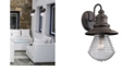 ELK Lighting Westport Collection 1 light outdoor sconce in Weathered Charcoal