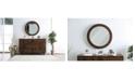Furniture of America Brimminghem Circular Mirror